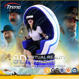 Blue Gun Shooting 9D Virtual World Simulator, 360 Degree Film Camera For Tourist Attraction