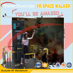 220 V Space Walk VR Theme Park Simulator With 360 Degree HTC / Vive Glasses