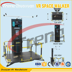 Electric System Gun Shooting Virtual World Simulator  With Touch Screen Console
