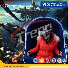 Amusement Park 360 Degree 9D Cinema Simulator With Oculus Rift ISO 9001 Approved