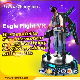 Cool Motion Game Virtual Reality Eagle Flight Simulator Machine High Security