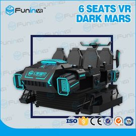 China Funny 9D 6 Seats VR Cinema Chair Motion 9d VR Simulator Arcade Game Machine For Kids supplier