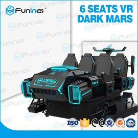6 Players 9D Virtual Reality Cinema / VR Game Machine For Malls Centre