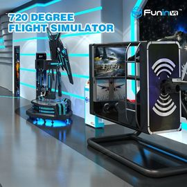 50 inch Screen VR Flight Simulator ,  720 degree Virtual Reality Experience