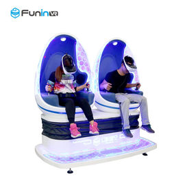 Power Rating Virtual Reality Machine Double Seats Capsule 9d Vr Egg Cinema