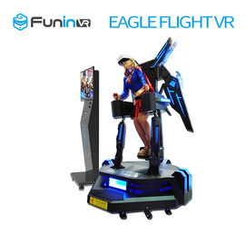 0.5KW 720 Degre Stand Up Flight VR Simulator / Virtual Reality Machine
