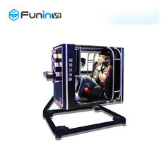 Full Motion Entertainment 220V 3.5kw VR Flight Simulator Cockpits Amusement Park Equipment