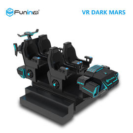 Six Seat 9D VR Simulator With Excited 9D Games / Electric Crank System