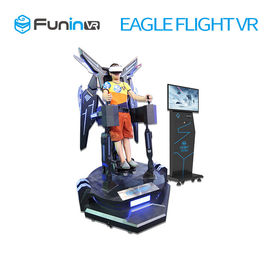 Exciting Interactive 360 Degree Stand Up Flight VR Simulator / Virtual Reality Equipment