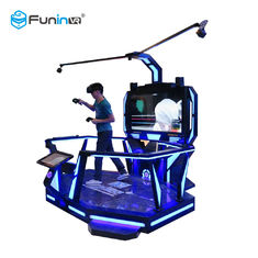 0.9KW Virtual Reality Simulators 9D Cinema 360 Degree View 12 Months Warranty
