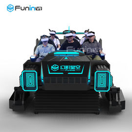 3.8KW 9D Virtual Reality Cinema VR Interactive Shooting Games For Kids