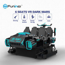 3.8KW 9D Cinema Simulator Virtual Reality Shooting VR Game Car With Delicate Action