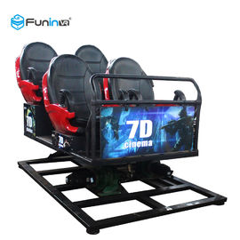 SGS 7D Movie Theater / 7D Cinema Simulator And Hydraulic Platform System