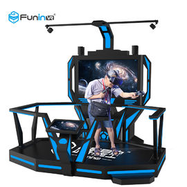 1 Player VR Space Walk Platform , Virtual Reality Games Simulator With ISO 9001