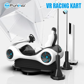 9D VR Racing Games Karting Car Virtual Reality Equipment 220V 2.0 Audio System