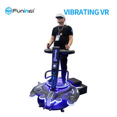 220V VR Vibration Platform 9D Virtual Reality Game Flight Simulator For Scenic