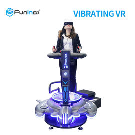 One Player Vibrating Virtual Reality Simulator With LED Lights Easy To Transport