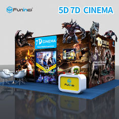 Electric 7D 5D Cinema Simulator For Home Theater With Leg Sweep