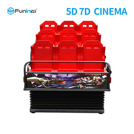 12 Seats 5D 7D Movie Simulator Cinema Sports And Entertainment Equipment