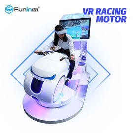 Metal Material 9D Virtual Reality Simulator Moto Game Machine For 8 Years Old