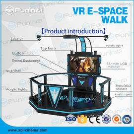 1 Player VR Walking Simulator Virtual Reality Stand Platform With Boxing Games