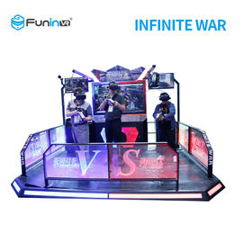 Two Players 9D Virtual Reality Simulator VR Infinite War For Students
