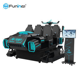 6 Players 9D VR Game Machine For Malls Centre 360 Degree Horizontal Rotating
