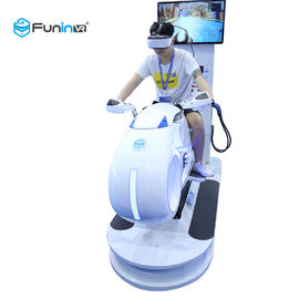 China White With LED Lights  1250*3065*2338mm vr 9d motion 100%  simulator racing simulator for 1 player supplier