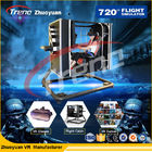 China Black 720°Motion VR Theme Park  Studio Game With Simulation Drive Cabin company