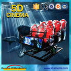 China 6 DOF Snow Virtual Reality 5D Cinema Equipment  With Hydraulic / Electric Platform company