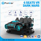 220V multiplayer  black  appearance  vr games 6 seats 9D Virtual Reality Simulator