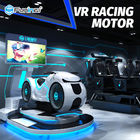Car Driving 9D Virtual Reality Simulator 700KW Multiplayer Eye Catch Appearance For Game Zone