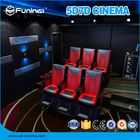 China Entertaining Mobile 5D Truck 7D Cinema Equipment Customized Projection Screen company