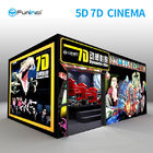 China 220V 8.0kw 7D Movie Theater Interactive Full Motion Cinema Seat 5D 12D Hologram Technology company