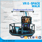 China 1 Player VR Walking Simulator Virtual Reality Stand Platform With Boxing Games company