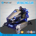 China 1 Player 100% Electric System 9D VR Car Racing Simulator In Theme Park company