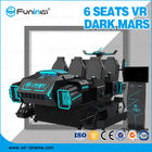 Family 9D Virtual Reality Simulator 6 Seats Deepon E3 Vr Glasses