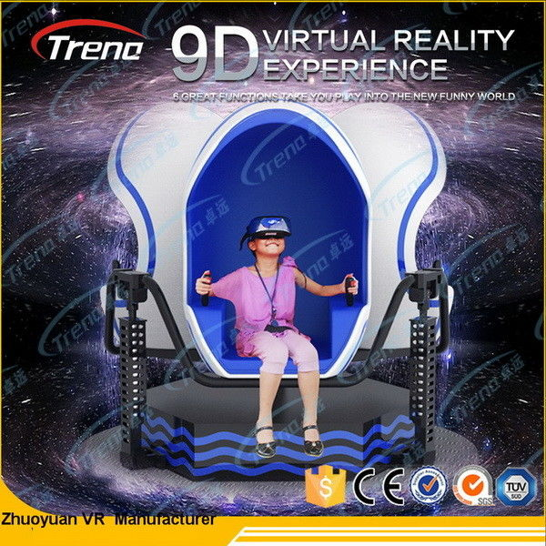 AC 220V More Effects Egg Machine Dynamic VR Simulator For Game Separately