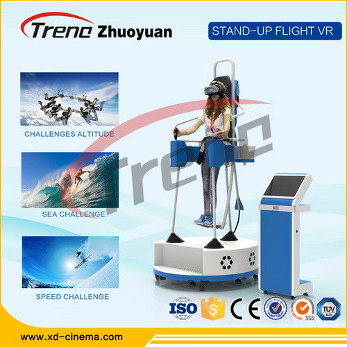 73463f140f70 Amusement Park Video Game Virtual Reality Gaming Devices With 360 °  Rotating Platform