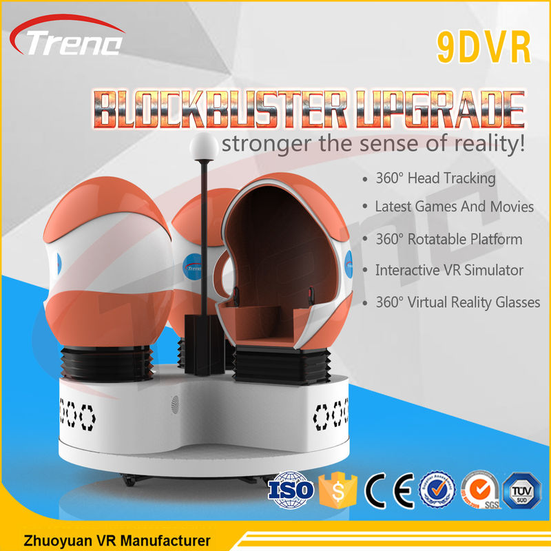 China Thrilling Roller Coaster Rides 9D VR Simulator Rotating Chairs Arcade Machine supplier  sc 1 st  9D Virtual Reality Simulator u0026 9D VR Simulator & Thrilling Roller Coaster Rides 9D VR Simulator Rotating Chairs ...