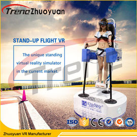 China Space Game Flight Simulator Virtual Reality With  Electric Motion Platform factory