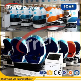 China Interactive 9D VR Equipment 6 Seater 9d Action Cinema With CE Certificate factory