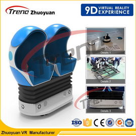 China 12 Effects Digital 9D Action Cinemas Luxury 3 Seat For Shopping Mall factory