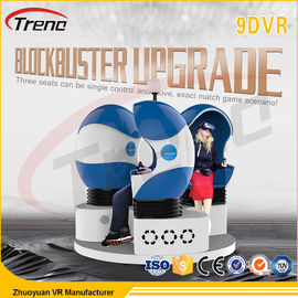China 360 Degree Theater 9D VR Simulator 12 Effects For Supermarket / Star Hotels factory