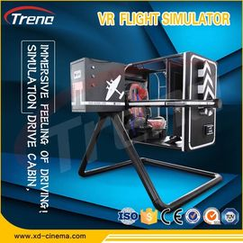 "China 40"" TV Display VR Flight Simulator With Advanced Grip Adjustment System factory"