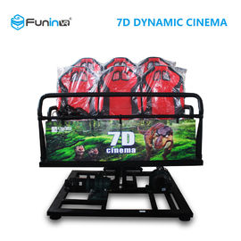 Professional 7D 9D Movie Theater Simulator For 8 / 9 / 12  Players