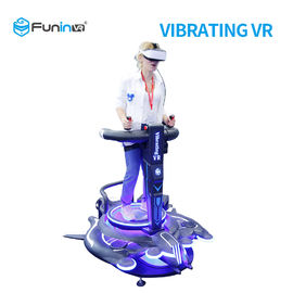 China Electric Platform Virtual Reality Driving Simulator For Amusement Park factory