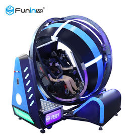 China 720 Roate Degree Flight Game Virtual Reality Simulator Cockpits Customized Color factory