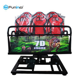 Dual Projection 7D Movie Theater , Dynamic 5d 9d 12d Cinema With 8 9 12 Seats