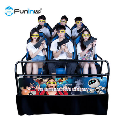 Amusement 8.0kw 80pcs 7D 5D Cinema Simulator With 8 9 12 Seats